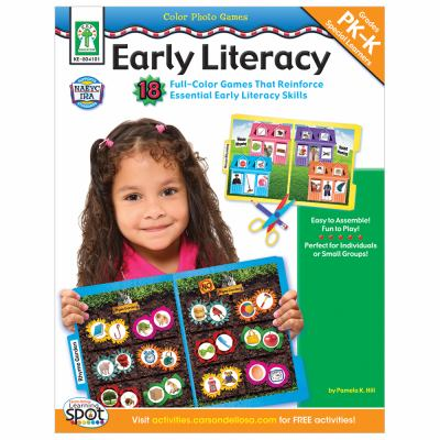 Color Photo Games: Early Literacy, Grades Pk-K, Special Learners 9781602681217