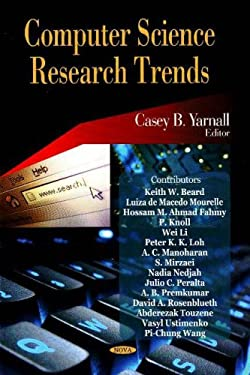 Computer Science Research Trends 9781600215186