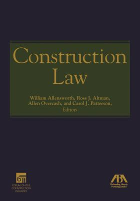 Construction Law 9781604423235