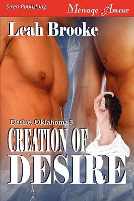 Creation of Desire [Desire, Oklahoma 3] {Siren Menage Amour #36) 9781606014615