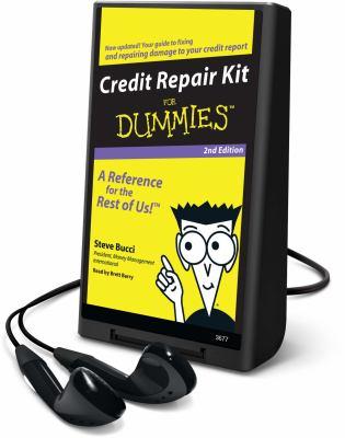 Credit Repair Kit for Dummies [With Headphones] 9781608125791