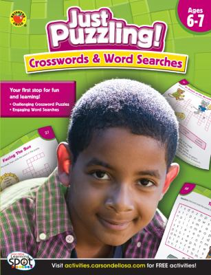 Crosswords & Word Searches, Ages 7+