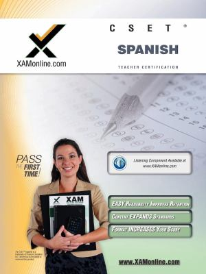 Cset Spanish Teacher Certification Test Prep Study Guide 9781607870913