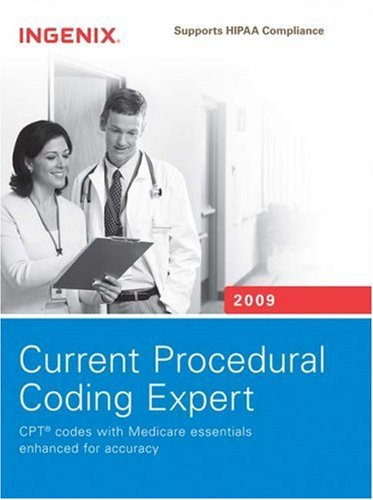 Current Procedural Coding Expert 2009: Spiral 9781601511966