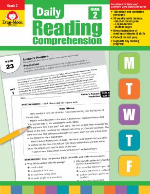 Daily Reading Comprenesion, Grade 2 9781608236336