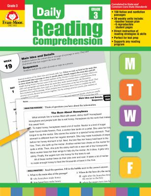 Daily Reading Comprenesion, Grade 3 9781608236343