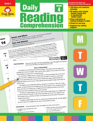 Daily Reading Comprenesion, Grade 4 9781608236350