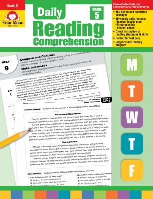 Daily Reading Comprenesion, Grade 5 9781608236367