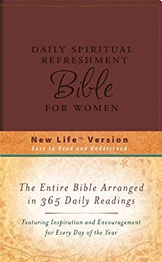 Daily Spiritual Refreshment for Women Bible-NM-Dicarta 9781602604599