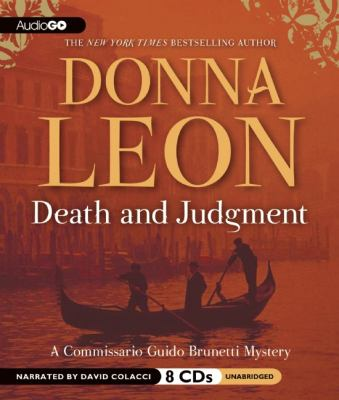 Death and Judgment: A Commissario Guido Brunetti Mystery 9781609986605