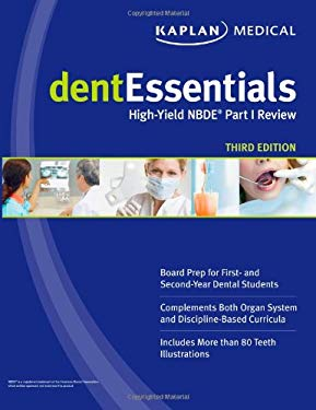 Dentessentials: High-Yield Nbde Part I Review 9781607144755