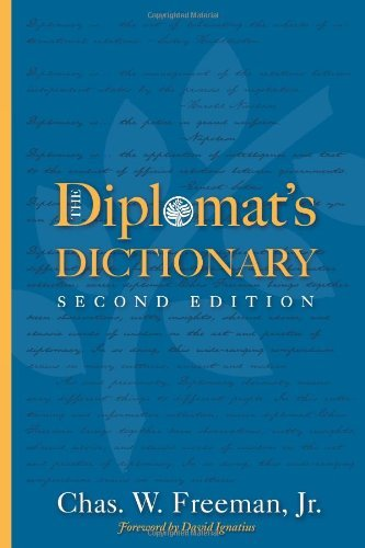 The Diplomat's Dictionary 9781601270504