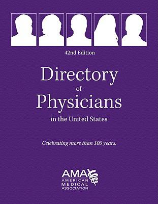 Directory of Physicians in the Us 4 Vol Set 9781603592192