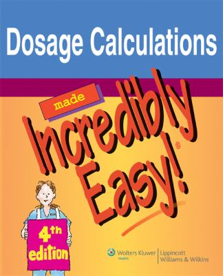 Dosage Calculations 9781605471976