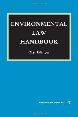 Environmental Law Handbook 9781605907253