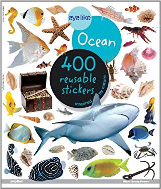 Eyelike Ocean: 400 Reusable Stickers Inspired by Nature 9781602141469