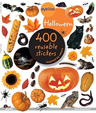 Eyelike Halloween: 400 Reusable Stickers Inspired by Nature 9781602141261