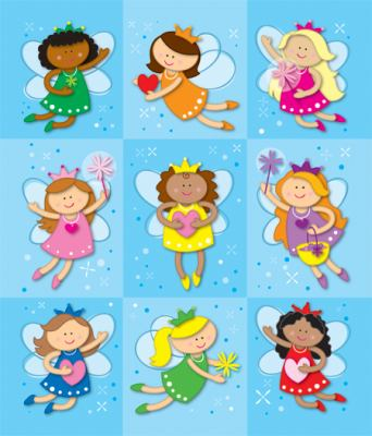 Fairies Prize Pack Stickers 9781604189704
