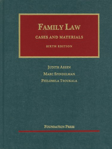 Family Law: Cases and Materials 9781609300548