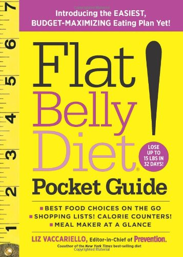 Flat Belly Diet! Pocket Guide: Introducing the Easiest, Budget-Maximizing Eating Plan Yet! 9781605296500