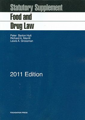 Food and Drug Law: Statutory Supplement 9781609300043