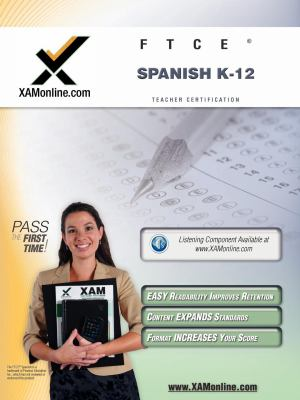 Ftce Spanish K-12 Teacher Certification Test Prep Study Guide 9781607870937