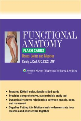 Functional Anatomy Flash Cards: Bones, Joints and Muscles 9781609136840