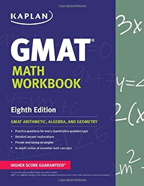 GMAT Math Workbook 9781609780982