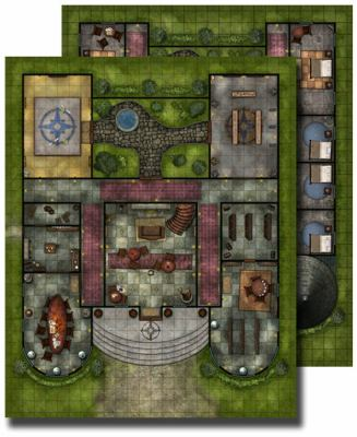 Gamemastery Flip-Mat: Pathfinder Lodge 9781601252111