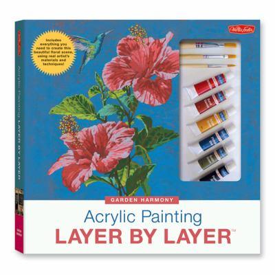 acrylic painting instruction books