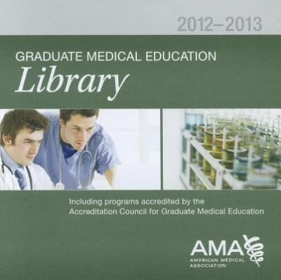 Graduate Medical Education Library 9781603597159