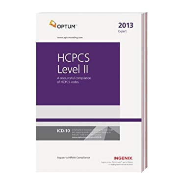 HCPCS Level II Expert 2013 (Compact) 9781601516701