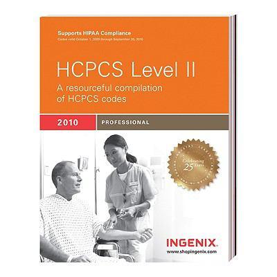 HCPCS Level II Professional 2010 9781601512888