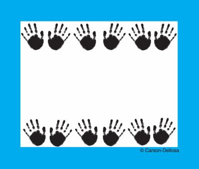 Handprints Name Tags 9781600222993