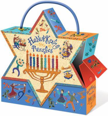 Hanukkah Puzzles 9781609050474
