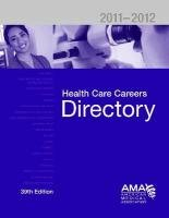 Health Care Careers Directory 9781603595971