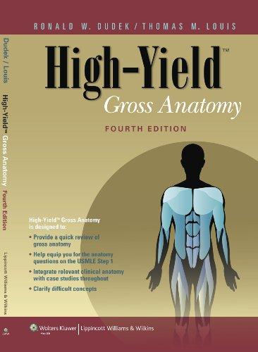 High-Yield Gross Anatomy 9781605477633