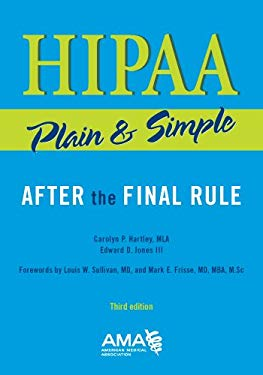 Hipaa Plain and Simple, Third Edition 9781603596572