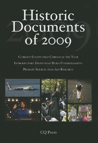 Historic Documents of 2009 9781604269987