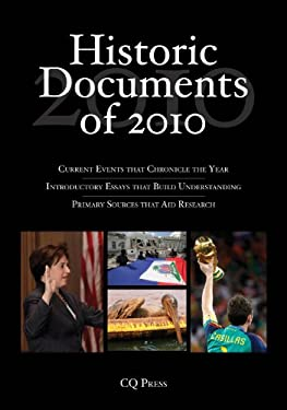 Historic Documents of 2010 9781608717248