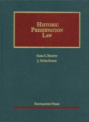 Historic Preservation Law 9781609301064
