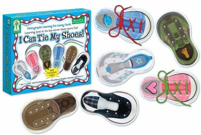 I Can Tie My Shoes Lacing Cards 9781602681101