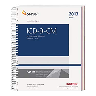ICD-9-CM Expert for Hospitals and Payers, Volumes 1, 2 & 3 - 2013 9781601516237