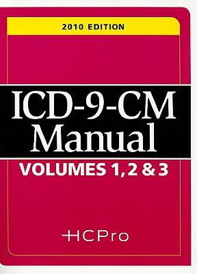 ICD-9-CM Manual Volumes 1, 2, & 3 9781601466266