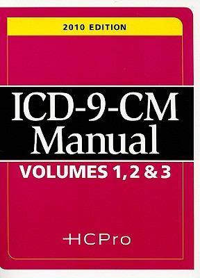 ICD-9-CM Manual Volumes 1, 2, & 3 9781601466266