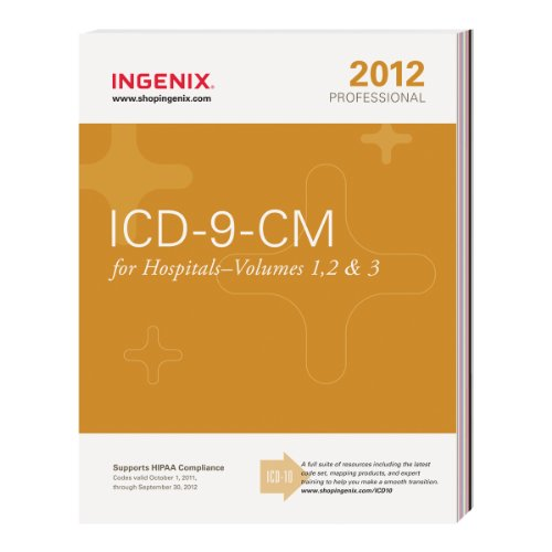ICD-9-CM Professional for Physicians 2012, Vols. 1, 2 & 3 9781601514912