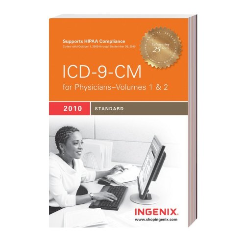 ICD-9-CM Standard for Physicians, Volumes 1 & 2 9781601512604