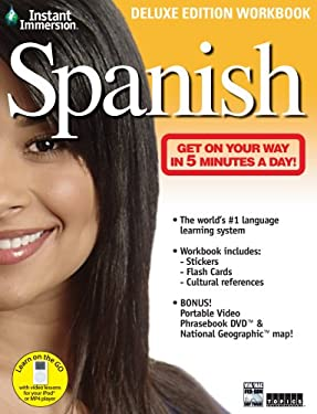 Instant Immersion Spanish [With Stickers and National Geographic Map and Flash Cards and DVD] 9781600773990