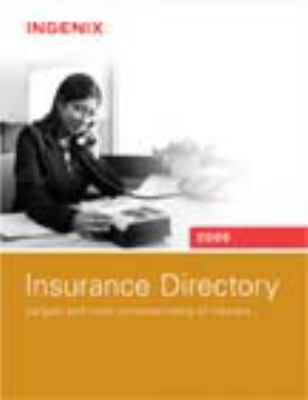 Insurance Directory: Largest and Most Complete Listing of Insurers 9781601511942