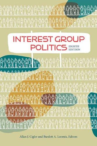 Interest Group Politics 9781604266375